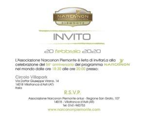 Narconon Piemonte - celebrazione anniversario